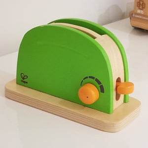 Hape Pop-up Toaster - Wood Wood Toys Canada's Favourite Montessori Toy Store