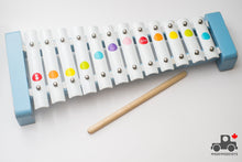 Load image into Gallery viewer, Janod Metal Xylophone - Wood Wood Toys Canada's Favourite Montessori Toy Store