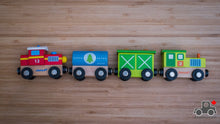 Load image into Gallery viewer, Janod Story Train - Wood Wood Toys Canada's Favourite Montessori Toy Store
