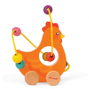 Janod Vulli Mini Looping Animals (Various Styles) - Wood Wood Toys Canada's Favourite Montessori Toy Store