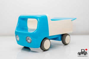 Kid O Tip Truck for Toddlers and Babies (Blue) - Wood Wood Toys Canada's Favourite Montessori Toy Store