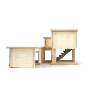 Laguna House - Conifer Toys (Made in Canada) - Wood Wood Toys Canada's Favourite Montessori Toy Store