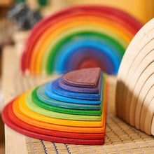 Load image into Gallery viewer, Large Semicircles for Rainbow Stacker - Made in Canada by Wood Wood Toys - Wood Wood Toys Canada's Favourite Montessori Toy Store