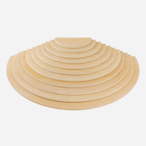 Large Semicircles for Rainbow Stacker - Made in Canada by Wood Wood Toys - Wood Wood Toys Canada's Favourite Montessori Toy Store