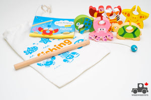 Little Passports Fishing Kit - Wood Wood Toys Canada's Favourite Montessori Toy Store