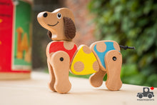 Load image into Gallery viewer, Melissa and Doug First Play Puppy Grasping Toy - Wood Wood Toys Canada's Favourite Montessori Toy Store