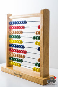 Melissa & Doug Abacus - Classic Wooden Educational Counting Toy with 100 Beads - Wood Wood Toys Canada's Favourite Montessori Toy Store