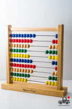Load image into Gallery viewer, Melissa & Doug Abacus - Classic Wooden Educational Counting Toy with 100 Beads - Wood Wood Toys Canada's Favourite Montessori Toy Store