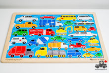 Load image into Gallery viewer, Melissa & Doug 'Beep Beep' 24-piece Jigsaw Puzzle - Wood Wood Toys Canada's Favourite Montessori Toy Store