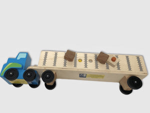 Melissa & Doug Big Truck Building Set - Wood Wood Toys Canada's Favourite Montessori Toy Store