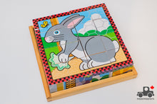 Load image into Gallery viewer, Melissa & Doug Cube Puzzles - Wood Wood Toys Canada's Favourite Montessori Toy Store