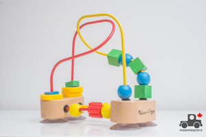 Melissa & Doug First Bead Maze - Wood Wood Toys Canada's Favourite Montessori Toy Store