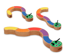 Load image into Gallery viewer, Melissa & Doug First Play Caterpillar Wooden Grasping Toy - Wood Wood Toys Canada's Favourite Montessori Toy Store