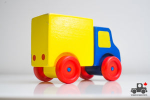 Melissa & Doug First Vehicles Truck - Wood Wood Toys Canada's Favourite Montessori Toy Store