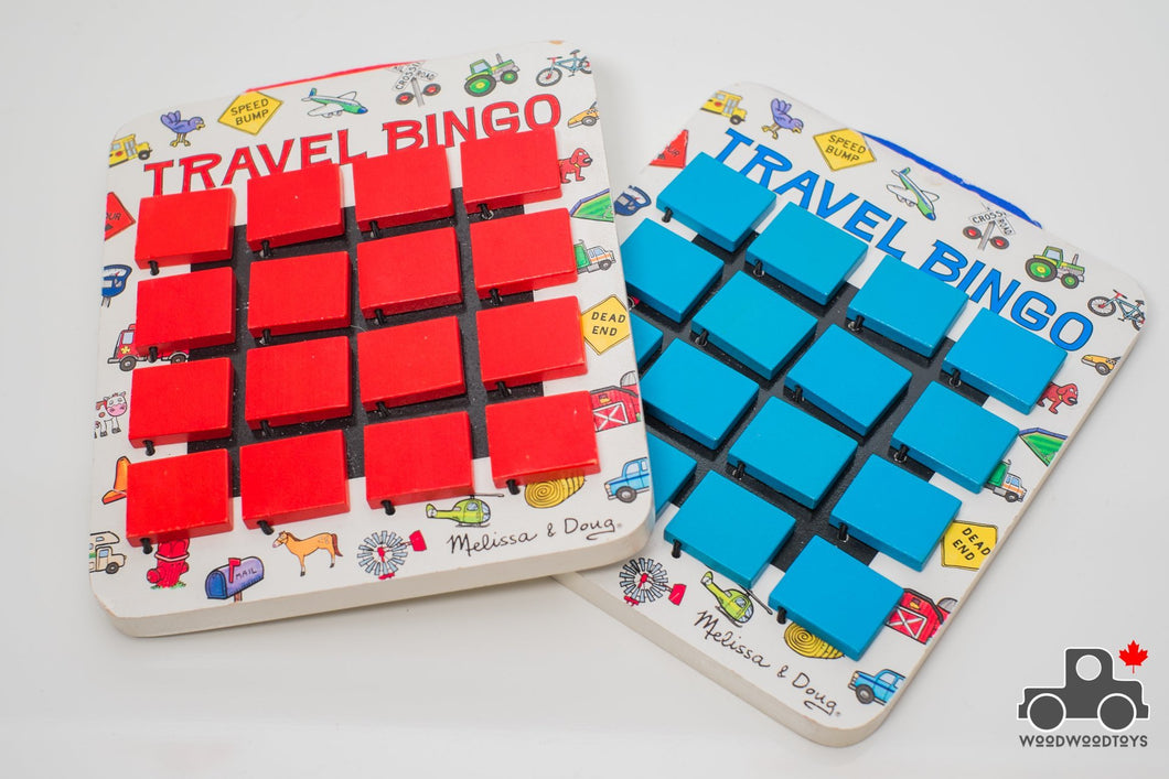 Melissa & Doug Flip to Win Travel Bingo - Wood Wood Toys Canada's Favourite Montessori Toy Store