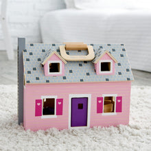 Load image into Gallery viewer, Melissa & Doug Fold and Go Wooden Dollhouse - Wood Wood Toys Canada's Favourite Montessori Toy Store