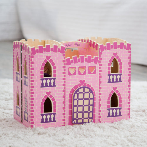Melissa & Doug Fold & Go Wooden Princess Castle - Wood Wood Toys Canada's Favourite Montessori Toy Store