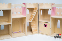Load image into Gallery viewer, Melissa & Doug Fold & Go Wooden Princess Castle - Wood Wood Toys Canada's Favourite Montessori Toy Store