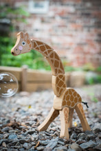 Load image into Gallery viewer, Melissa & Doug Giraffe Grasping Toy - Wood Wood Toys Canada's Favourite Montessori Toy Store