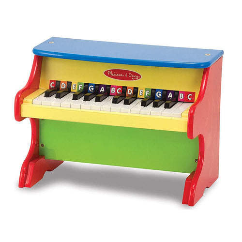 Melissa & Doug Learn-to-Play Piano With 25 Keys - Wood Wood Toys Canada's Favourite Montessori Toy Store