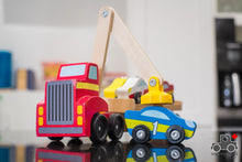Load image into Gallery viewer, Melissa & Doug Magnetic Car Loader - Wood Wood Toys Canada's Favourite Montessori Toy Store