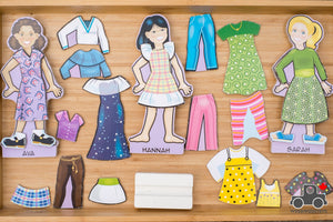 Melissa & Doug Magnetic Dress-Up Sets (Various) - Wood Wood Toys Canada's Favourite Montessori Toy Store