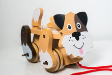 Load image into Gallery viewer, Melissa & Doug Playful puppy Pull Toy - Wood Wood Toys Canada's Favourite Montessori Toy Store