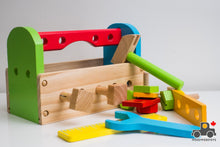 Load image into Gallery viewer, Melissa & Doug Take-Along Tool Kit - Wood Wood Toys Canada's Favourite Montessori Toy Store