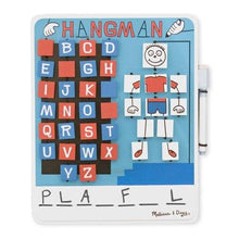 Load image into Gallery viewer, Melissa & Doug Travel Hangman Flip to Win Board - Wood Wood Toys Canada's Favourite Montessori Toy Store