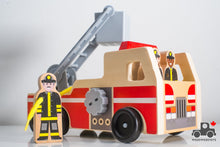 Load image into Gallery viewer, Melissa & Doug Wooden Fire Truck - Wood Wood Toys Canada's Favourite Montessori Toy Store