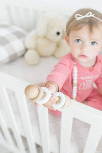 Modern Baby Gift Set in White by Legacy Learning Academy - Wood Wood Toys Canada's Favourite Montessori Toy Store
