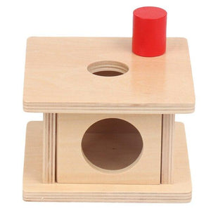 Montessori Geometric Shape Matching Box Sensory Toys Imbucare Box Early Learnng Toys For Toddlers Juguetes Montessori A1065H - Wood Wood Toys Canada's Favourite Montessori Toy Store