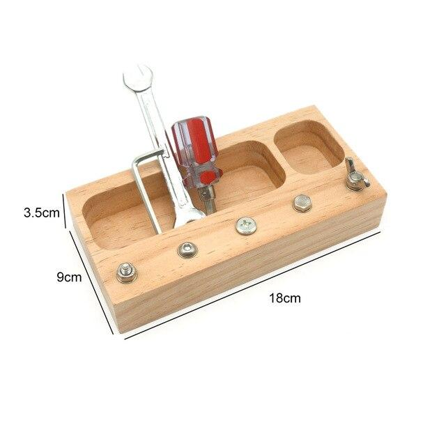 Montessori Screwdriver Activity Boards - Wood Wood Toys Canada's Favourite Montessori Toy Store