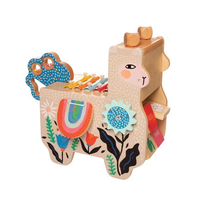 Musical Lili Llama by Manhattan Toys - Wood Wood Toys Canada's Favourite Montessori Toy Store
