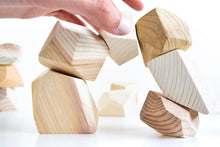 Load image into Gallery viewer, Natural Rock Blocks (Set of 8) - Wood Wood Toys Canada's Favourite Montessori Toy Store