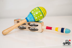 Noise Makers (Various Styles) - Wood Wood Toys Canada's Favourite Montessori Toy Store