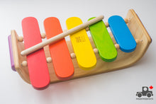Load image into Gallery viewer, Oval Xylophone by Plan Toys - Wood Wood Toys Canada's Favourite Montessori Toy Store