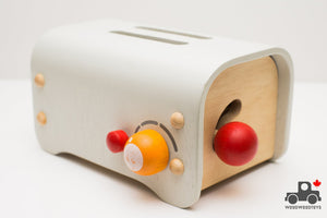 Plan Toys Pop-up Toaster - Wood Wood Toys Canada's Favourite Montessori Toy Store