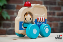 Load image into Gallery viewer, Plan Toys Rescue Car - Wood Wood Toys Canada's Favourite Montessori Toy Store