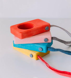 Say Cheese! Wooden Toy Camera! - Wood Wood Toys Canada's Favourite Montessori Toy Store