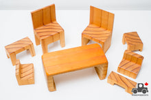 Load image into Gallery viewer, Schloss Toys Miniature Furniture Puzzle - Made in Australia - Wood Wood Toys Canada's Favourite Montessori Toy Store