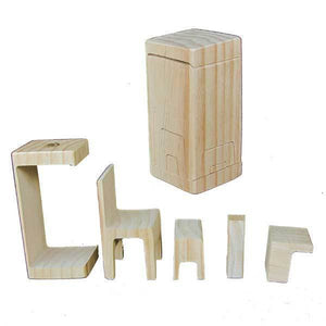 Schloss Toys Miniature Furniture Puzzle - Made in Australia - Wood Wood Toys Canada's Favourite Montessori Toy Store