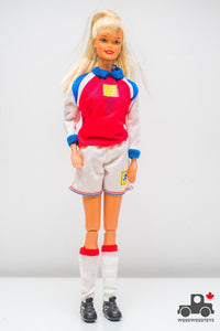 Soccer Barbie Doll 1999 USA FIFA Women World Cup Mia Hamm - Wood Wood Toys Canada's Favourite Montessori Toy Store