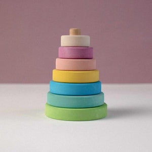Stacking Tower by Avdar - Wood Wood Toys Canada's Favourite Montessori Toy Store