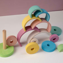 Load image into Gallery viewer, Stacking Tower by Avdar - Wood Wood Toys Canada's Favourite Montessori Toy Store