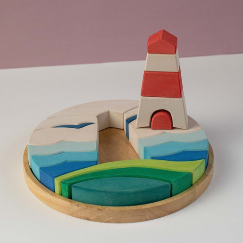 The Lighthouse Puzzle by Avdar - Wood Wood Toys Canada's Favourite Montessori Toy Store