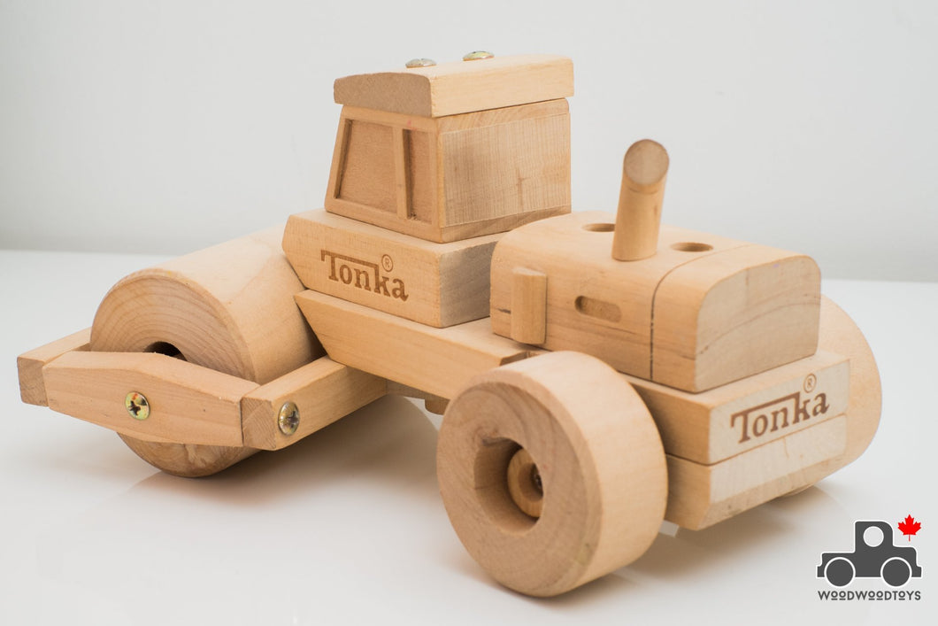 Tonka Wooden Steamroller - Wood Wood Toys Canada's Favourite Montessori Toy Store