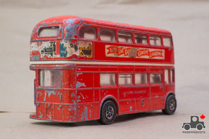 Vintage 1970s Corgi 469 London Routemaster Double Decker Bus Large Diecast - Wood Wood Toys Canada's Favourite Montessori Toy Store