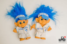 Load image into Gallery viewer, Vintage 1992 Toronto Blue Jays World Series Troll Dolls (set of 2) - Wood Wood Toys Canada's Favourite Montessori Toy Store