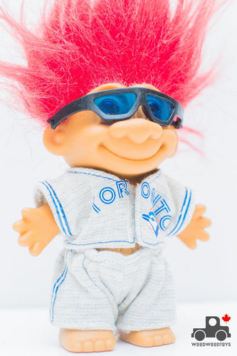Vintage 1992 Toronto Blue Jays World Series Troll Dolls - Wood Wood Toys Canada's Favourite Montessori Toy Store